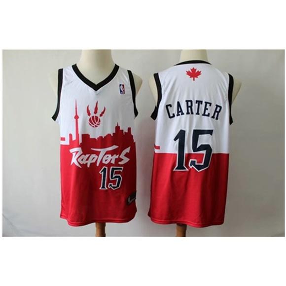 sale retailer 0d7f7 a369a Toronto Raptors Vince Carter Jersey (2) NWT